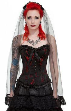 Goth Bride | Model: Melasuza | Sophie Merlo | Flickr