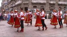 Russian traditional folk dance 1, via YouTube.