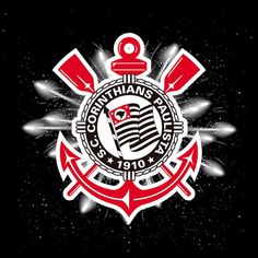 Sport Club Corinthians Paulista - Happy New Year Corinthian Casuals, Corinthian Fc, Corinthians Time, Sport Club Corinthians, Sports Clubs, Sports Games, Cafe Display, Waves Wallpaper, Butterfly Painting