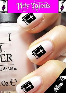 Christian Holy Bible Nail Art