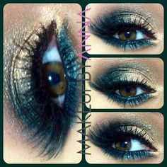 Urban Decay- half baked & loaded eyeshadow with Inglot loose glitter #54 MAC mystery eyeliner in the waterline with Dose of Colors lashes #makeupbyanna #doseofcolors #doseofcolorslashes #urbandecay #inglot #ilovemaciggirls - @Krista McNamara McNamara McNamara McNamara McNamara McNamara Lahaye Garcia By Anna- #webstagram