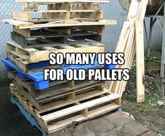 Amazing Uses For Old Pallets - 28 Pics
