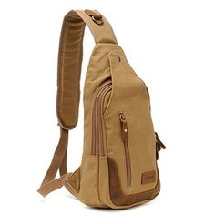 Casual One Strap Backpack One Strap Backpack, Sling Backpack, Backpacking, Jute Products, Cool Outfits, Purses, My Style, Shoulder, Casual