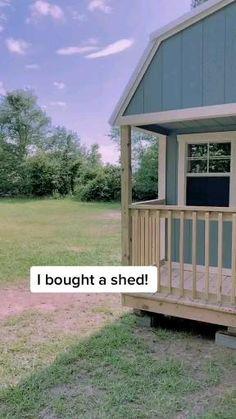 Cheap Tiny House, Shed To Tiny House, Tiny House Loft, Tiny House Nation, Best Tiny House, Building A Tiny House, Cheap Houses, Modern Tiny House, Tiny House Living
