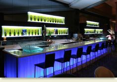 Modern Luxury Commercial and Residential Interior Furniture Design Premium Acrylic by Hanex Night Club Bar Bar Interior, Residential Interior Design, Nightclub Bar, Nightclub Design, Cheap Countertops, Concrete Countertops, Laminate Countertops, Cafe Bar, Sierra Leone