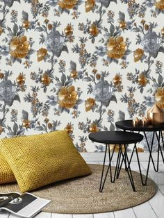 Floral Wallpapers for your walls online in India. Buy Floral Wallpaper for walls at best prices.