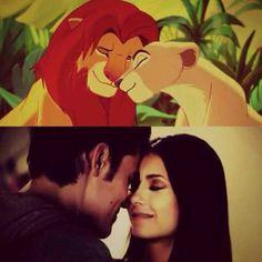 Lion King=Vampire Diaries