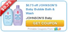 Tri Cities On A Dime: $0.75 COUPON ON JOHNSON'S BABY BUBBLE BATH AND WAS...