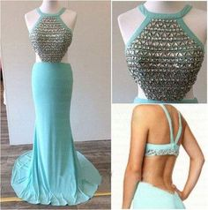 Sexy Prom Dress,Sleeveless Prom Dresses,Backless Evening Dress,Long Dress