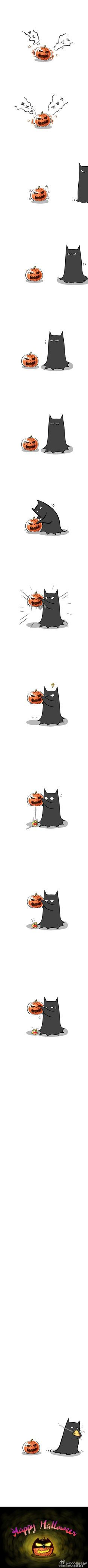Fact #WhoCares: Did you know... Batman is able to scare the shit out of inanimate objects as well as living beings?