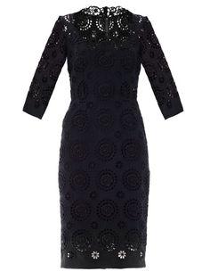 Large-circle lace dress | Dolce & Gabbana | MATCHESFASHION.COM