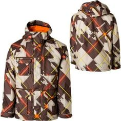 This is a pic of my new Oakley Snowboarding Jacket...