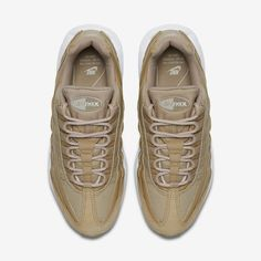 new styles 4d937 4e905 Chaussures Femme AIR MAX 95 Champignon Blanc Voile