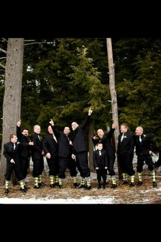 Gray and yellow argyle socks for the groomsmen from express...have a little fun with them.