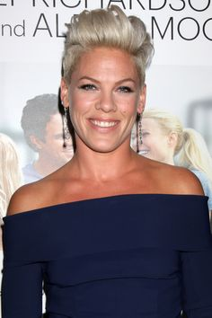 Pink Short Hair How-To: P!nk's Pretty Pompadour