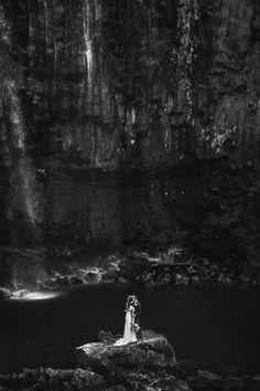Elopement / Trentham Falls.  Photography by Erin & Tara