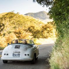 Friday has us dreaming towards the summer road trip, and no better classic to take it in than a Porsche 356.