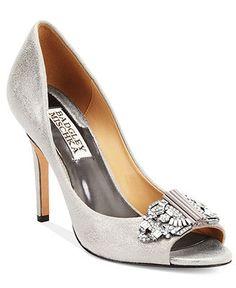 Badgley Mischka Davida Evening Pumps - Shoes - Macy's