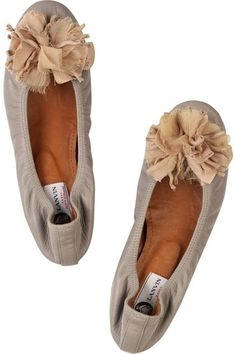 Lanvin ballet flats:  I lovvvve their ballet flats!!! I have them in six different colors b/c they're so great!!!! -EK
