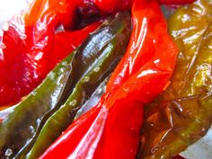Roasted Long Hot Peppers – in the oven – so easy! Roasted Long Hot Peppers – in the oven – so easy! Roasted Red Pepper Soup, Roasted Peppers, Long Hot Peppers, Hot Pepper Recipes, Fried Peppers, Cooking Recipes, Healthy Recipes, What's Cooking, Kitchens