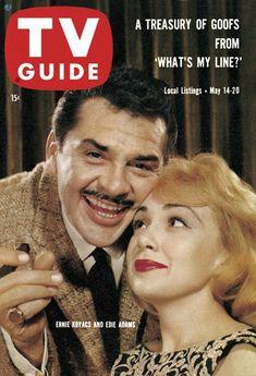 TV Guide: May 14, 1960 - Ernie Kovacs and Edie Adams