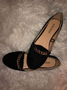 d269fccd57ac New Olivia Miller Black Ballet Flats Woman s Size 8 Suede Material  fashion   clothing