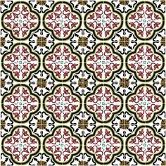 Georgian Tile Patterns :Calum Hall