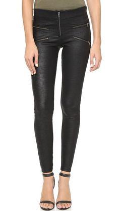 David Lerner Jess Starburst Zip Leggings | SHOPBOP SAVE 25% Use Code:INTHEFAM25