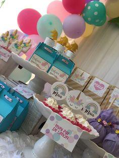 Unicorns party Birthday Party Ideas | Photo 4 of 23