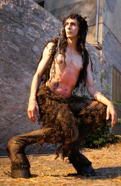 Chris Channing. Performance - Faun / Satyr