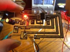 Making Circuit Boards with a Low Wattage Laser Cutter