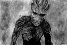 groot guardians of the galaxy drawing - Google Search