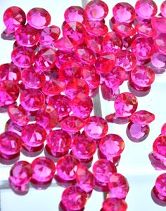Fuchsia Pink Scatter Beads - 12mm  $12.00