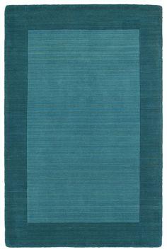 Kaleen - Kaleen Regency 7000-78 Turquoise Area Rug #100323 Rug Studio