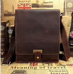 $66.74 Men Messenger bags briefcase business single shoulder bag crazy horse leather men travel bags vintage bag wholesale man 2014 NEW-in Briefcases from Luggage & Bags on Aliexpress.com | Alibaba Group