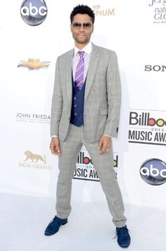 Eric Benet in Klein Epstein & Parker made to measure for the Billboard Music Awards