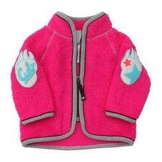 Härlig rosa fleecejacka från Molo - Cutiepie.se
