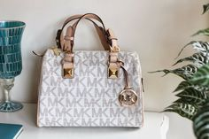 MK MICHAEL KORS MEDIUM GRAYSON LOGO SATCHEL BAG OOTD FASHION BLOG BLOG DE MODA PORTUGAL TRENDS