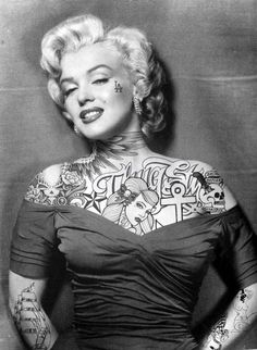 What if Classic Movie Stars had Tattoos?