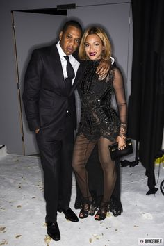 2Beyoncé and Jay Z at Tom Ford fashion show in Los Angeles- 20 feb 2015