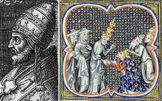 """Innocent IV was Pope from 1243 to 1254. Certainly the Inquisition represents the darkest of Roman Church history, and it was Innocent IV who approved the use of torture to extract confessions of heresy. He aggressively applied the principle that """"the end justifies the means."""""""