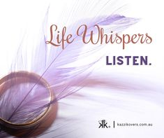 Life has a way of 'nudging' us to listen. If you hear something once, ok. If you hear it 2 - 3 times, pay attention and take action if necessary. It's 'showing up' for a reason. Whether it's to learn, to grow, to nurture or to change. Jewellery Boxes, Empowering Quotes, Take Action, Brighten Your Day, Pay Attention, Whisper, Positivity, Change, Times