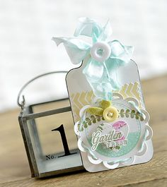 Paper Girl Crafts: Garden Fresh Tags