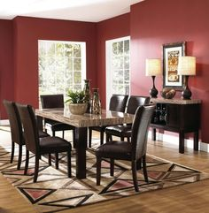 Prism In Multi From Badcock Furniture Dining Rooms Pinterest