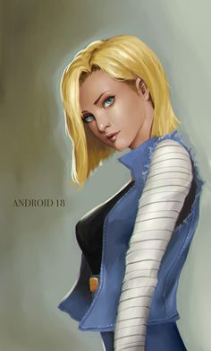 Android 18 by phamoz on DeviantArt