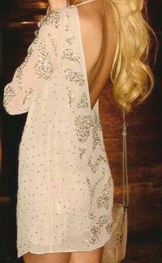 Longsleeved Party Dress