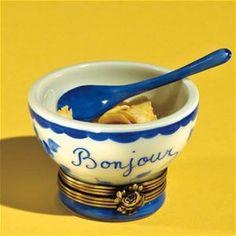 Limoges Bonjour Cereal Bowl Box The Cottage Shop