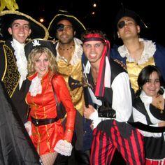 Piratenkostüme selber machen.