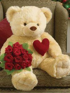 Imagen De Amor De Un Osito Latiendo El Corazón. Bear WallpaperCute Teddy ...