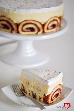 Cafe Chocolada: Banana roll cake
